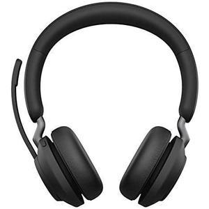 Kopfhörer Rauschunterdrückung Bluetooth mit Mikrophon Jabra Evolve2 65 - Schwarz