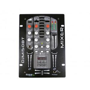 Mixer Ibiza Sound DJ DJM150USB-BT