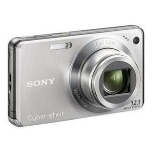Kompaktkamera Sony Cyber-shot DSC-W270 + Carl Zeiss Vario-Tessar 5-25 mm 1: 3,3-5,2 Objektiv - Silber