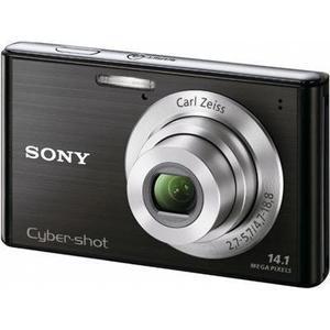 Kompaktikamera Sony Cyber-Shot W550 Musta + Objektiivi Carl Zeiss Vario-Tessar 26-104 mm f/2.7-5.7