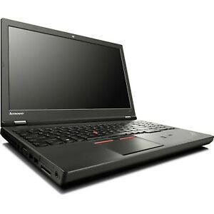 "Lenovo ThinkPad W541 15"" Core i7 2,8 GHz - SSD 256 GB - 8GB AZERTY - Frans"