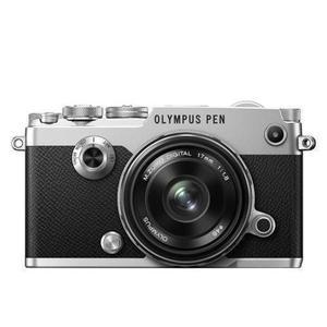 Hybride Olympus PEN - Gris/Noir + Objectif Olympus 17 mm f/1.8 M.Zuiko Digital - Noir