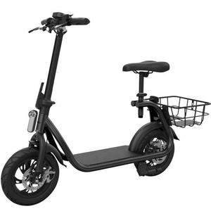 Scooter Eléctrico Eswing E-Bike 350W 10.2Ah Negro