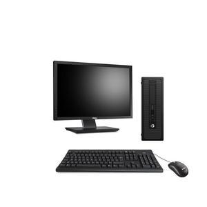 """Hp ProDesk 600 G1 SFF 23"""" Celeron 2,8 GHz - SSD 240 Go - 8 Go AZERTY"""