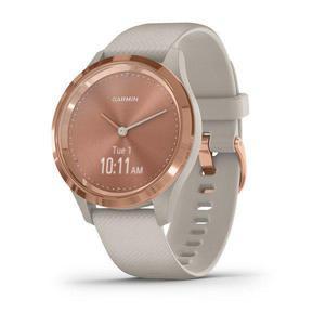 Horloges Cardio GPS Garmin vívomove 3S - Rosé goud