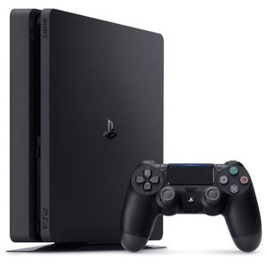 Gameconsole Sony PlayStation 4 Slim 500GB + Controller+ Gran Turismo Sport - Zwart