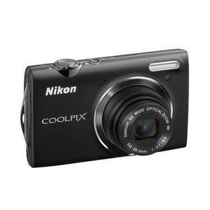 Compact - Nikon Coolpix S5100 Noir Nikon Nikkor 8X Wide Optical Zoom VR