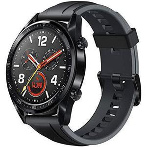 Horloges Cardio GPS Huawei GT Active - Zwart (Midnight Black)