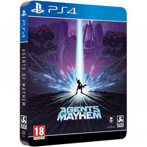 Agents Of Mayhem Day One Steelbook Edition - PlayStation 4