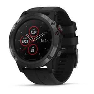 Smart Watch Cardiofrequenzimetro GPS Garmin Fenix 5X Plus - Nero