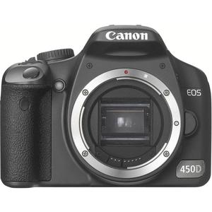 Spiegelreflexcamera Canon EOS 450D - Zwart + Lens Canon EF 35-80mm f/4.0-5.6 III