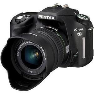 Reflex - Pentax K100D - Noir + Objectif 18-55 mm f/3.5-5.6 + Tamron AF-70-300mm