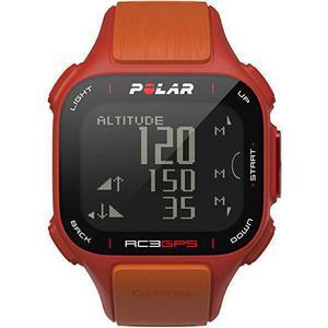 Horloges Cardio GPS Polar RC3 - Rood