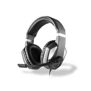 Kopfhörer Rauschunterdrückung Gaming mit Mikrophon Under Control Multi Gaming - Grau