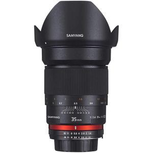 Objectif Samyang 35 mm f/1.4 AS UMC - Monture Canon - Noir
