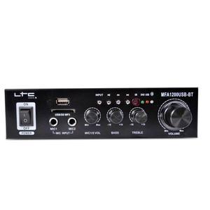 Ltc MFA1200USB-BT-BL Karaoke Amplificadores De Som