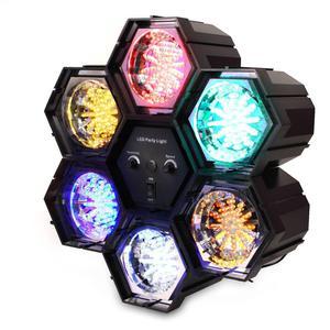 Jeu de lumière chenillard à 6 couleurs Soundlab G005JA