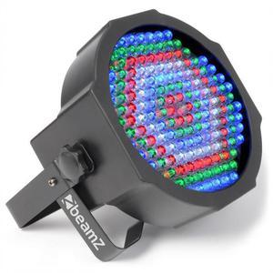 Jeu de lumière BeamZ Flat PAR 154 LEDs 10mm 20W Rouge/Vert/Bleu/Blanc - DMX + Télécommande