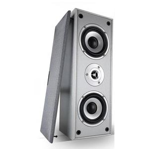 Barre de son Ltc Audio Ensemble Home-Cinema Lot 2 enceintes centrales HiFi 2 voies - 2 x 50W - 2 x 10cm - grise - Gris