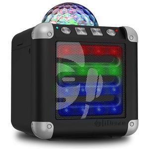 Idance Cube Mini 3 Bluetooth Speakers - Preto