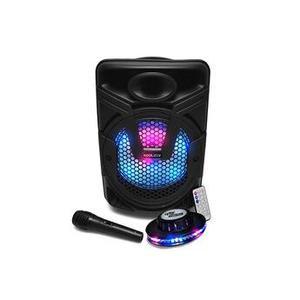 Enceinte sur batterie Koolstar BROZY08 à LED - 400W - USB/BT/FM/AUX - Telecommande + Micro