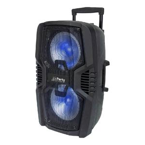 Enceinte portable Party Sound & Light PARTY 210LED - Noir