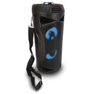 Enceinte Bluetooth Nomade Party Bazooka - Noir