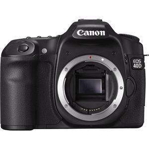 Spiegelreflexcamera Canon EOS 40D - Zwart + Lens Canon EF-S 17-85mm f/4-5.6 IS USM