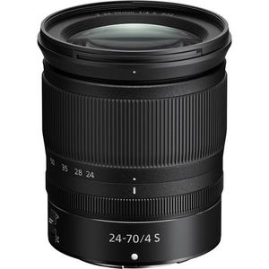Objectif Nikon Z 24-70mm F/4 S - Noir