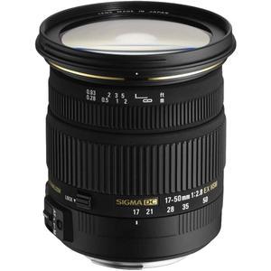 Objektiv Sigma 17-50 mm F2.8 DC EX OS HSM- Halterung Nikon