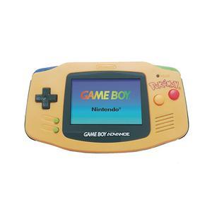 Gameconsole Nintendo Game Boy Advance Pokémon Pikachu Edition - Geel/Blauw