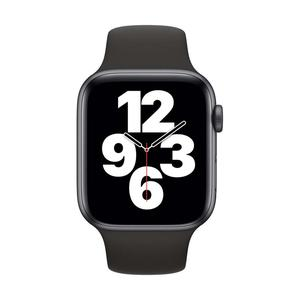 Apple Watch (Series SE) Septembre 2020 40 mm - Aluminium Gris sidéral - Bracelet Sport Noir