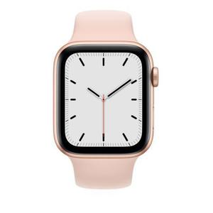 Apple Watch (Series SE) Σεπτέμβριος 2020 44mm - Αλουμίνιο Χρυσό - Αθλητισμός Ροζ άμμος