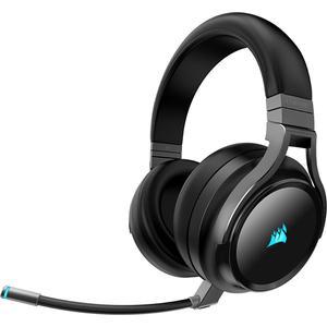 Casque Gaming Bluetooth avec Micro Corsair Virtuoso RGB Wireless SE - Noir/Gris