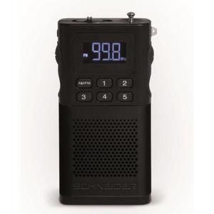 Radio Schneider Sc160aclblk