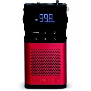 Radio Schneider Piccolo SC160ACLRED - Rouge