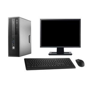 """Hp EliteDesk 800 G2 SFF 19"""" Pentium 3,3 GHz - HDD 2 tb - 16GB AZERTY"""