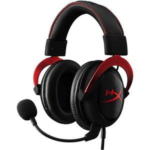 Cascos Gaming Micrófono Kingston HyperX Cloud II - Rojo/Negro