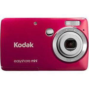 Compact - Kodak EasyShare Mini M200 Rouge Kodak AF 3X Optical Aspheric Lens 29-87 mm f/3-4.8
