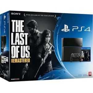 Console Sony Playstation 4 Fat : Edition The Last Of Us Remastered 500 Go - Noir