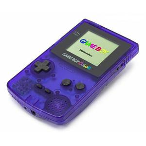 Nintendo Game Boy Color Limited Edition Midnight Blue