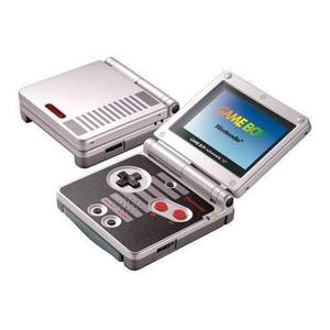 Console Nintendo Gameboy Advance SP Classic NES Edition - Grijs/Zwart