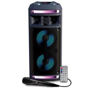 Enceinte Autonome - Pickering FX62 - 300W - USB SD Bluetooth / RADIO FM - 2x Boomer 16cm à LED RVB