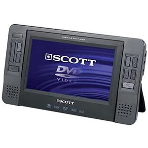 DVD-Player Tragbarer Scott TSX 700 CS