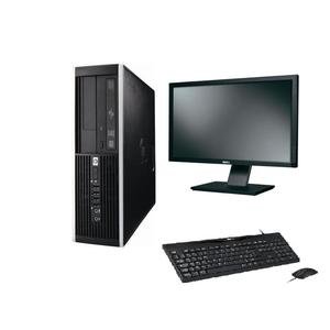 "Hp Compaq 6000 Pro SFF 23"" Core 2 Quad 2,83 GHz - SSD 480 Go - 4 Go AZERTY"