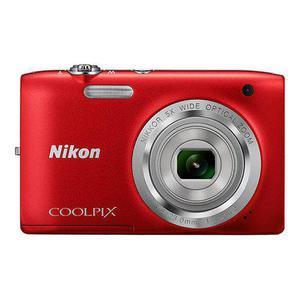 Kompakt Nikon Coolpix S2900 - Rot + Objektiv zoom - 4.6 - 23 mm - f/3.2-6.5