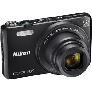 Nikon - Coolpix S7000 - Noir