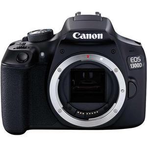 Reflex Canon EOS 1300D - Noir + Objectif Canon EF-S 18-55 mm f/3,5-5,6 III - Noir