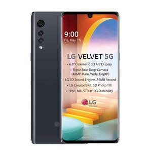 LG Velvet 5G 128 Go Dual Sim - Gris - Débloqué