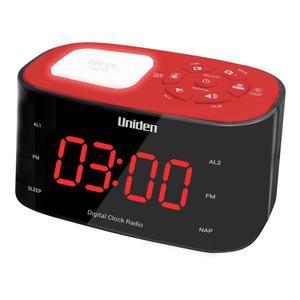 Radio Réveil Daewoo DCR45R - Rouge